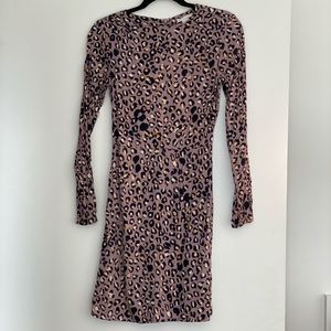 Leopard print H&M dress